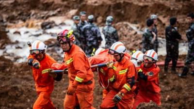 چین لینڈ سلائڈنگ سے ہلاک ہونے والوں کی تعداد38جبکہ13افراد لاپتہ ہوگئے۔