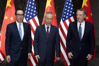 چین اور امریکہ کے شنگھائی میں باضابطہ تجارتی مذاکرات شروع