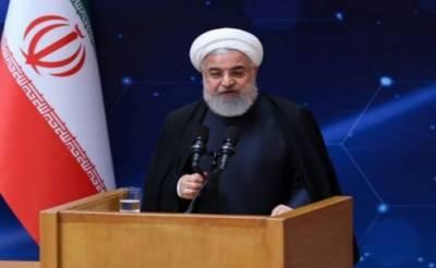 ایرانی صدر نے جواد ظریف پر پابندی کو امریکا کی بچگانہ حرکت قرار دیدیا