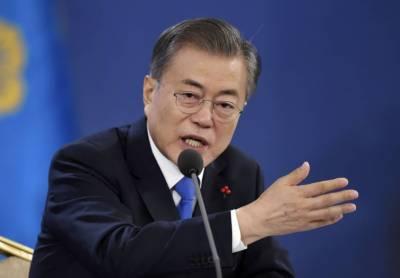 جاپان کا فیصلہ غیر ذمہ دارانہ ہے۔ جنوبی کوریائی صدر