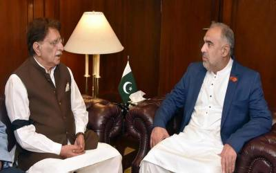 پاکستان کشمیری عوام کی سیاسی ،اخلاقی اور سفارتی حمایت سے دستبردار نہیں ہو گا۔اسد قیصر