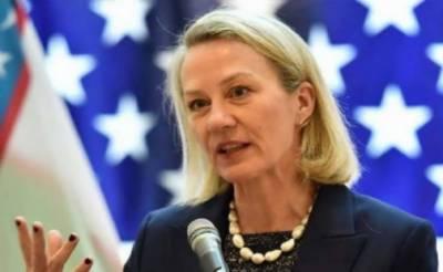 امریکی نائب معاون وزیر خارجہ امریکی وفد کے ہمراہ 5 روزہ دورے پر پاکستان پہنچ گئی
