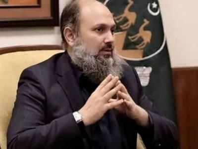 کوئٹہ دھماکا: عوام کی جان ومال کے تحفظ کو ہرصورت یقینی بنایا جائے، وزیراعلیٰ بلوچستان
