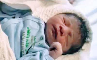 حج سیزن میں پہلا بچہ افغان خاتون کے ہاں مکہ مکرمہ کے میں پیدا ہوا۔