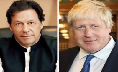 سفارتی محاذ پر پاکستان متحرک،وزیراعظم کا برطانوی ہم منصب بورس جانسن کو فون؛ مقبوضہ کشمیر کی صورتحال سے آگاہ کیا