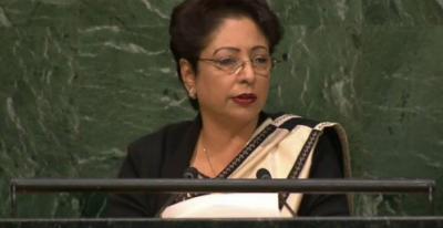بھارت امن اورکشمیر کے بارے میں اقوام متحدہ کی قراردادوں کوسبوتاژ کررہاہے، ملیحہ لودھی