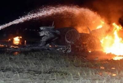 بھارتی ائیر فورس کاایس یو-30 طیارہ زمین بوس،پائلٹ زخمی