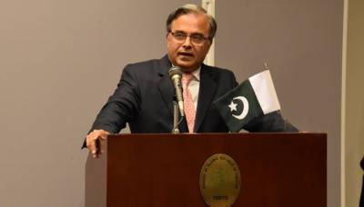 امریکا بھارت کو مقبوضہ کشمیر سے متعلق فیصلہ واپس لینے پر مجبور کرے: پاکستانی سفیر
