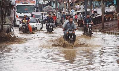 کراچی میں ہلکی بارش کی ایک بار پھر پیشگوئی