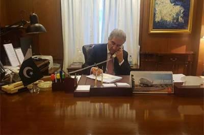 وزیر خارجہ شاہ محمود قریشی کا نیدر لینڈ اور کینیڈا کے ہم منصب سے ٹیلی فونک رابطہ