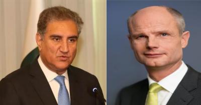 وزیر خارجہ کی مقبوضہ کشمیر کی صورتحال پر ہالینڈ کے وزیر خارجہ سے بات چیت