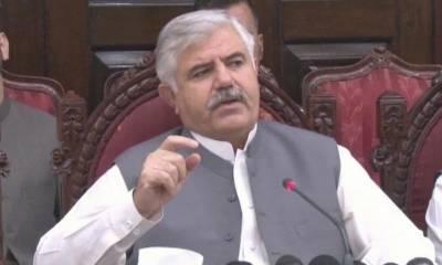 وزیراعلیٰ خیبر پختونخوا نے'' پاکستان کیلئے پودا لگائیں کے نام سے شجرکاری مہم'' کا باضابطہ افتتاح کیا