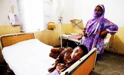 کراچی: سرکاری اسپتالوں میں ڈائریا کے فوری خصوصی وارڈز قائم کرنے کی ہدایت