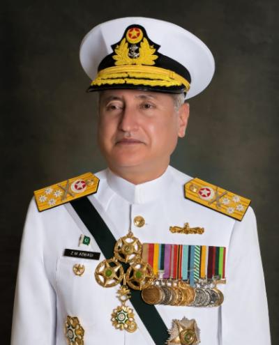 پاک بحریہ کے سربراہ ایڈمرل ظفر محمود عباسی کا کریکس اور کوسٹل ایریا میں پاک بحریہ کی تنصیبات کا دورہ