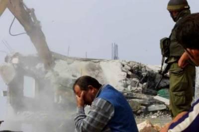 اسرائیل کی جانب سےالقدس میں فلسطینیوں کے مزید گھروں کی مسماری جاری