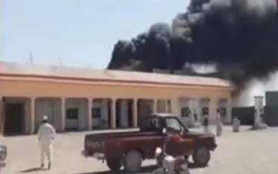چاغی:پمپ میں آتشزدگی سے 3 افراد جھلس کر جاں بحق