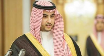 سعودی نائب وزیردفاع کی یمنی رہنماؤں سے ملاقاتیں، جنگی صورتحال پر گفتگو