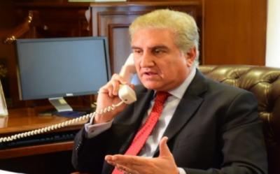 وزیرخارجہ نے اپنے نیپالی ہم منصب کیساتھ ٹیلی فون پر گفتگو کرتے ہوئے انہیں بھارت کے یکطرفہ اورغیرقانونی اقدامات سے آگاہ کیا
