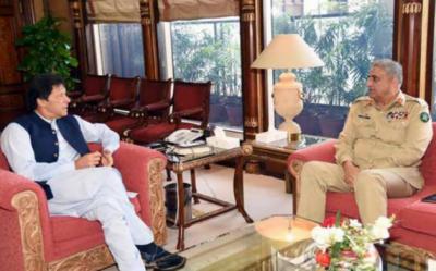 وزیراعظم اور آرمی چیف کی ملاقات،مقبوضہ کشمیر کی صورتحال پر گفتگو