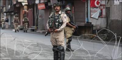 مقبوضہ کشمیر میں کرفیو کا مسلسل 19واں روز