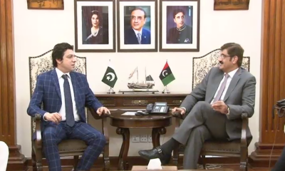 وزیراعلی سندھ سے فیصل واوڈا کی ملاقات، سندھ میں ملکر پانی کا مسئلہ حل کرنے کی خواہش