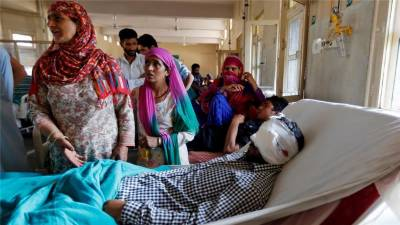15دنوں میں بھارتی مظالم کے شکار 150 سے زائد زخمی کشمیری ہسپتال لائے گئے۔