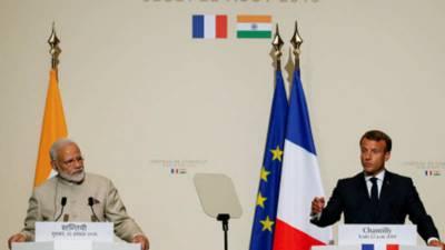 بھارت کو پاکستان سے مل کر مسئلہ کشمیر کا حل تلاش کرنا ہو گا۔ فرانسیسی صدر
