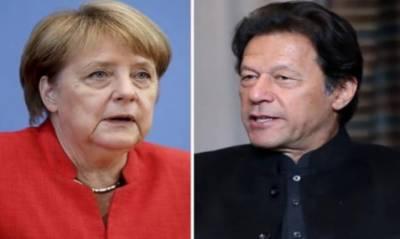 وزیراعظم کا جرمن چانسلر کو ٹیلیفون، مقبوضہ کشمیر کی صورتحال پر گفتگو