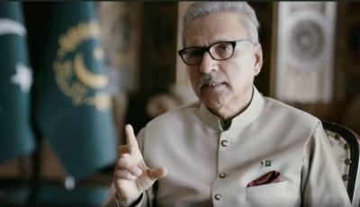 بھارت مقبوضہ کشمیر کی خصوصی حیثیت کی غیرقانونی تبدیلی اورعوامی امنگوں کو کچل کرآگ سے کھیل رہاہے: صدرڈاکٹرعارف علوی