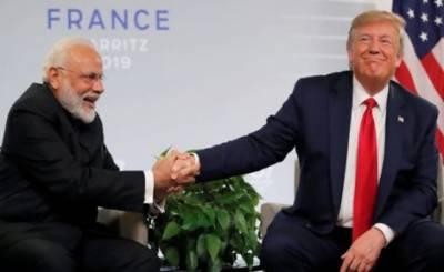 صدر ٹرمپ اور مودی کے درمیان ملاقات ، مودی کا ایک بار پھرڈھٹائی کا مظاہرہ ، مودی نے کشمیر پر ٹرمپ کی ثالثی پھر مسترد کردی