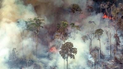 برازیل نے ایمیزون کے جنگلات کی آگ پر قابو پانے کی جی سیون کی پیشکش ٹھکرادی