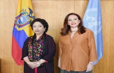 اقوام متحدہ کشمیر کے مسئلے پر اپنی ذمہ داریاں نبھائے۔ ملیحہ لودھی