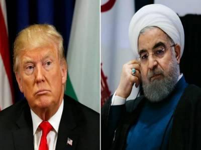 حالات مناسب ہوئے تو صدر حسن روحانی سے ملاقات ہو سکتی ہے: ٹرمپ