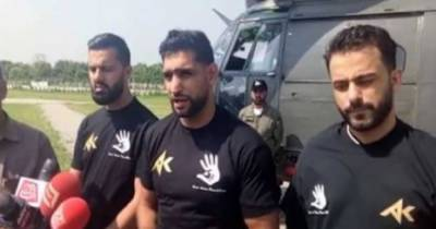 عالمی برادری مقبوضہ وادی میں بھارتی فوج کی جانب سے انسانی حقوق کی خلاف ورزیاں روکنے میں مدد دے: پاکستانی نژاد برطانوی باکسر عامر خان