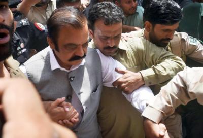 منشیات اسمگلنگ کیس :رانا ثناءللہ کے جوڈیشل ریمانڈ میں 7ستمبر تک توسیع