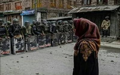 کشمیر میں جبر و تشدد کا 24 واں دن: عوام میں بے چینی اور اضطراب برقرار