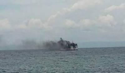 فلپائن میں مسافر فیری میں آگ لگنے کے سبب دو افراد ہلاک