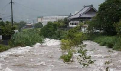 جاپان : ریکارڈ بارشیں اور سیلاب، کم از کم 2 شہری ہلاک، الرٹ جاری