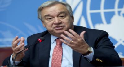 اقوام متحدہ کے سیکرٹری جنرل انتونیوگوتریز نے پاکستان اور بھارت سے ایک مرتبہ پھر اپیل کی