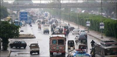 کراچی میں آج بھی موسلادھار بارش کی پیشگوئی