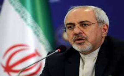 اقتصادی دہشت گردی ختم کئے بغیر امریکہ کے ساتھ بات کرنا ممکن نہیں: ایرانی وزیر خارجہ