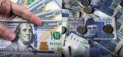 انٹربینک میں ڈالر12 پیسے سستا، سٹاک مارکیٹ میں 153 پوائنٹس کمی