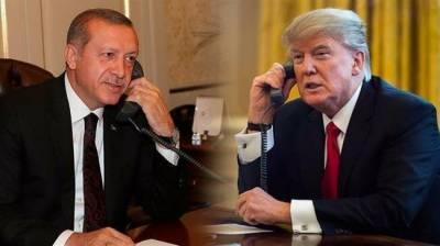 شام میں انسانی حقوق کی پامالیوں اور امن وامان کی صورت حال پرامریکی صدر کا ترک صدر سے رابطہ