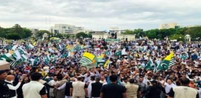 وزیراعظم عمران خان کا کشمیری بہن بھائیوں سے اظہار یکجہتی کیلئے گھروں سے باہر نکلنے پر قوم سے اظہار تشکر