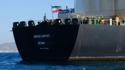 امریکا نے ایرانی تیل بردار جہاز اڈریان ڈاریا 1 پابندیاں لگا کر بلیک لسٹ کر دیا۔