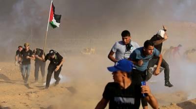 غزہ: اسرائیلی فوج کی فائرنگ ، 2 خواتین اور 18 بچوں سمیت 75 فلسطینی زخمی