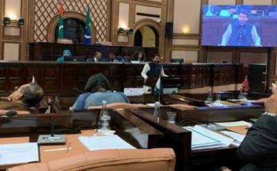 ساؤتھ ایشیا اسپیکر کانفرنس : ڈپٹی سپیکر قاسم خان سوری کےمسئلہ کشمیر اٹھانے پر بھارتی وفد آگ بگولہ
