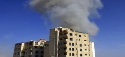 یمن میں سعودی عرب کے حمایت یافتہ فوجی اتحاد نے Dhamar شہر میں حوثی فوجی اہداف پر فضائی حملے شروع کئے