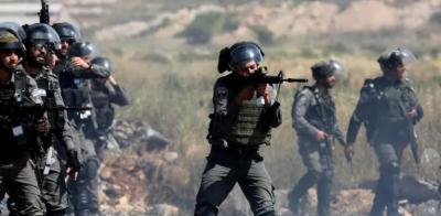 غزہ: پرامن مظاہرین پر صہیونی فورسز کی فائرنگ، 74 فلسطینی زخمی