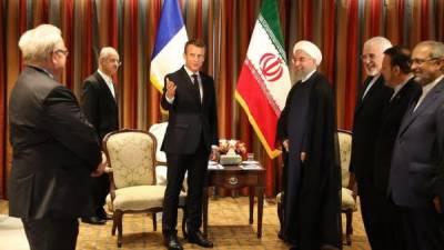 فرانس نے ایران کو مشکلات ختم کرنے کے لئے ایک نئے منصوبے کی تجویز دے دی۔